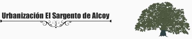 URBANIZACIÓN EL SARGENTO DE ALCOY
