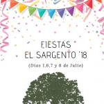 Fiestas el Sargento 2018